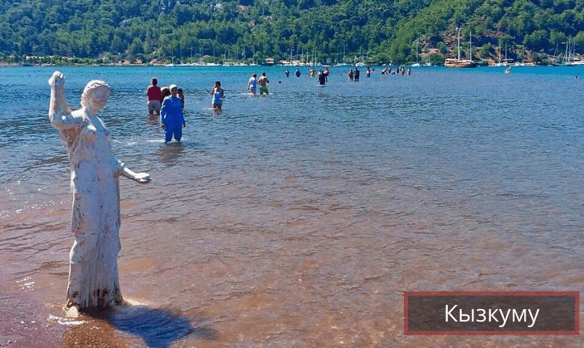 Пляж Кызкуму