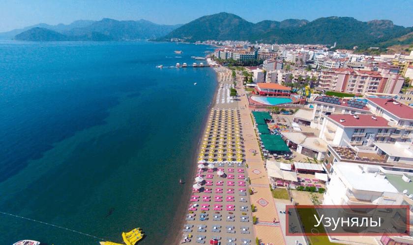 Пляж Узунялы