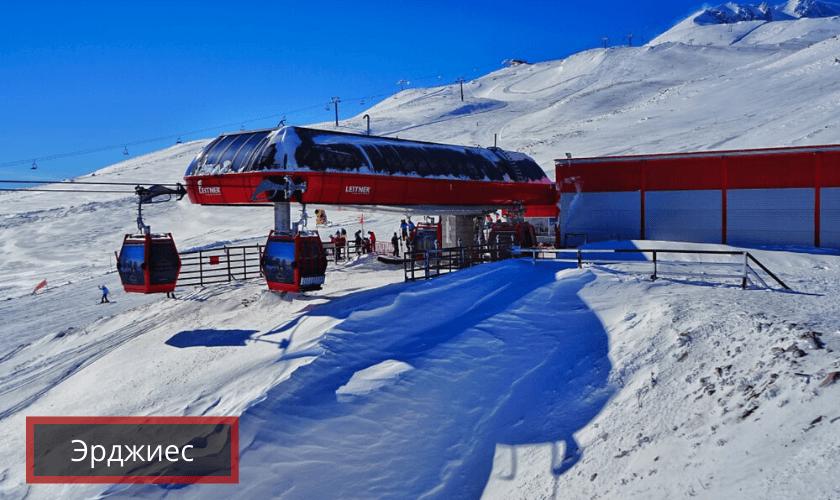 кайсери горнолыжный курорт турция