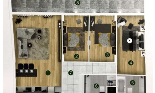 квартира комплекса Flora park тип В