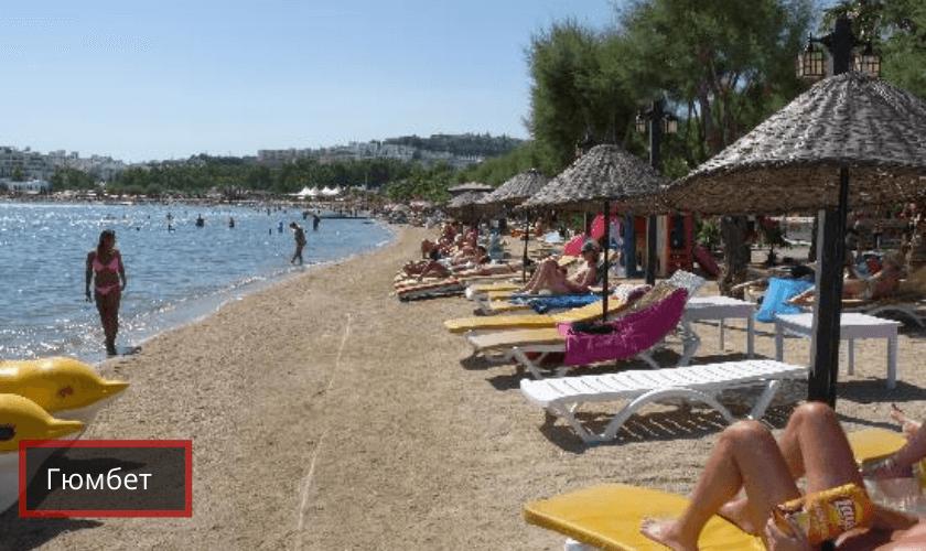 Лучшие пляжи в Бодруме: Гюмбет